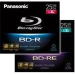 Panasonic BD-RE 25go - 2x (Boite CD x1)