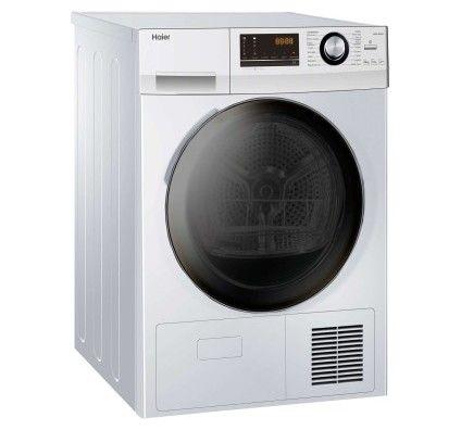 Haier Sèche linge hublot  HD90-A636-FR 9kg Blanc