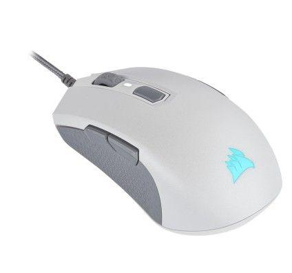 Corsair Souris Gaming GAMING M55 RGB PRO – White - Blanc