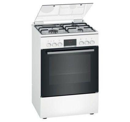 Bosch Cuisinière mixte HXR39AG20 Blanc