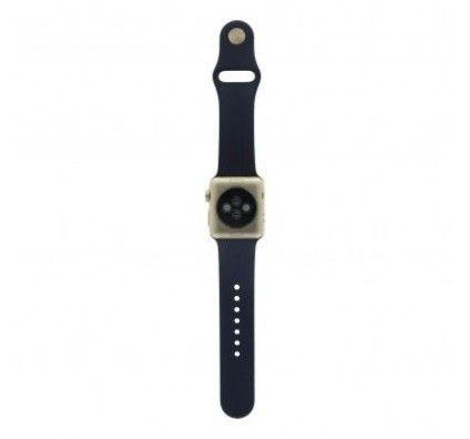 Apple Watch Series 2 38mm aluminium or bracelet sport bleu