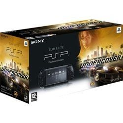 Sony PSP Slim & Lite Black + Need For Speed Undercover